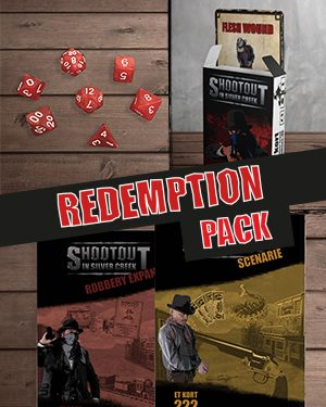 Køb Redemption pack til Shootout in silver creek