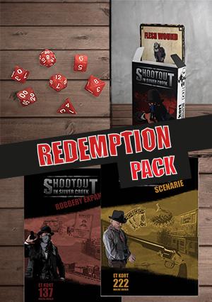 Køb Redemption pack til Shootout in silver creek
